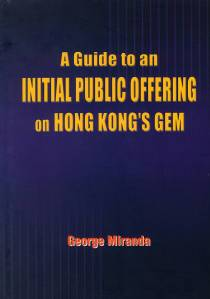 A Guide to an IPO on Hong Kong's GEM - frontpg